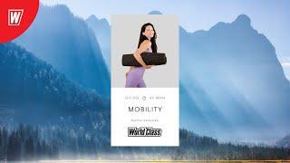 MOBILITY с Марией Ивановой 11 января 2021 Онлайн тренировки World Class