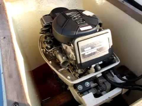 Super Yamaha F9.9A werkmotor - YouTube XO-96
