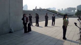 Music at the Juche Tower