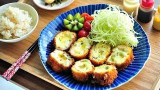 치즈 듬뿍 치즈돈까스 만들기/ 치즈 돈가스 (pork …