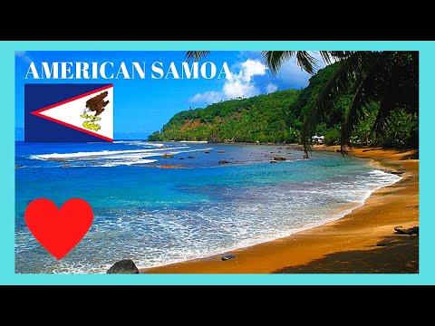 AMERICAN SAMOA: Wild And Remote Alega 🏖️ Beach, Pacific Ocean