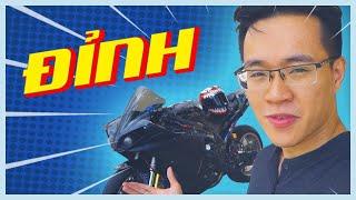 PKL - Chúa tể mắt cú 2009 tại Việt Nam (The best 2009 Yamaha R1 in Vietnam)