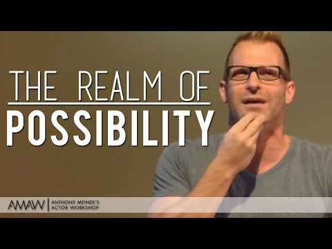 """""""How To Generate More Fields Of Possibility"""" - New York/Los Angeles/Vancouver Acting Lesson"""