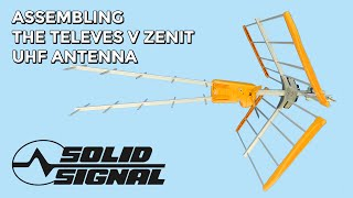 How to Assemble the Televes V Zenit UHF Antenna