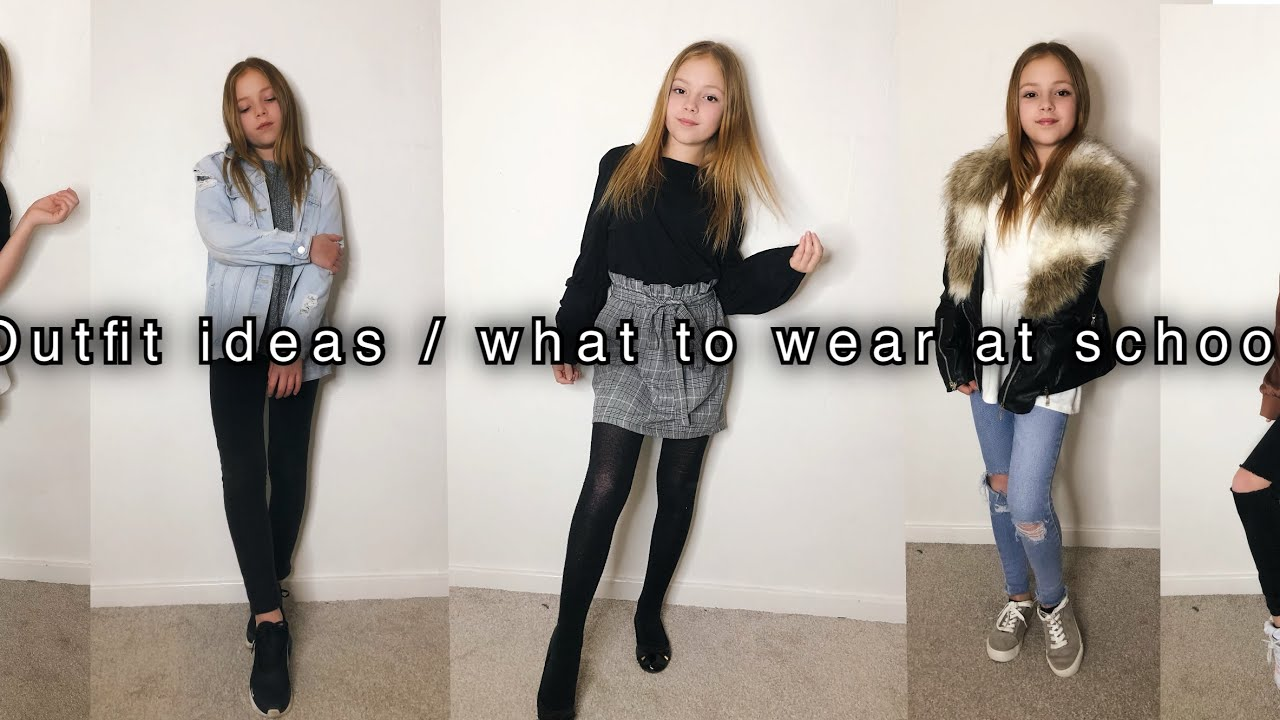 Teen Outfit Ideas / School Outfit Ideas / What to Wear