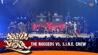 INTERNATIONAL BOTY 2014 - 1ST BATTLE - THE RUGGEDS (NL) VS S.I.N.E. CREW (VIE) [BOTY TV]