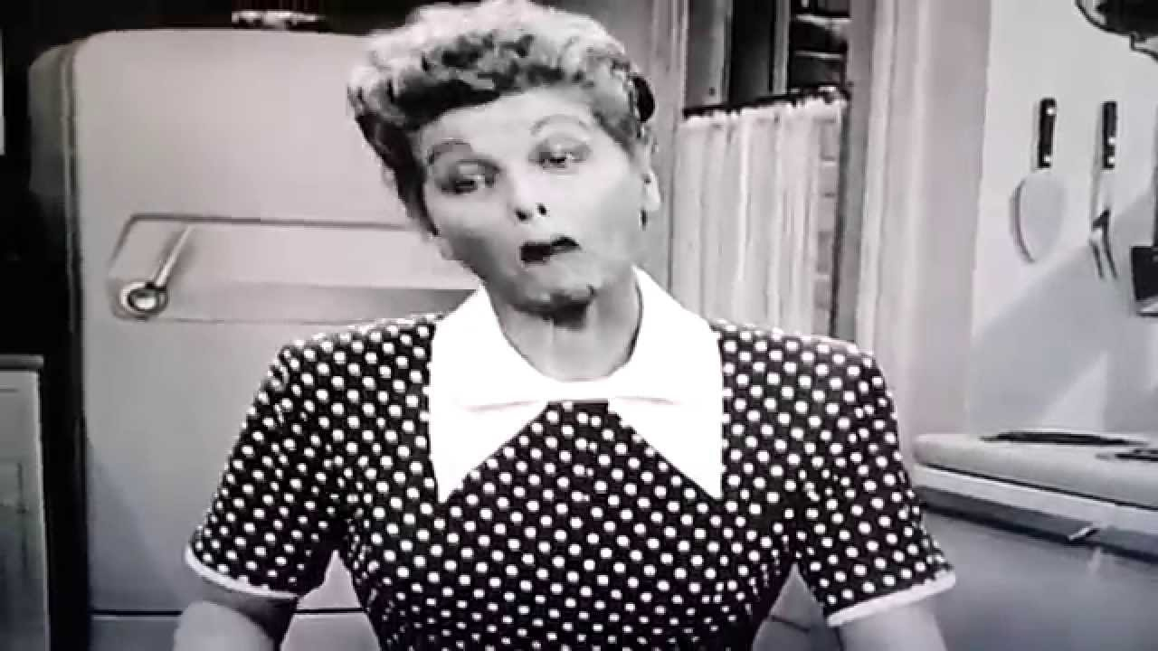 I Love Lucy Lucy Hires A Maid Clip Youtube