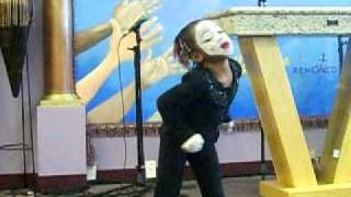 William Murphy Like Never Before mime 5 yr old mime