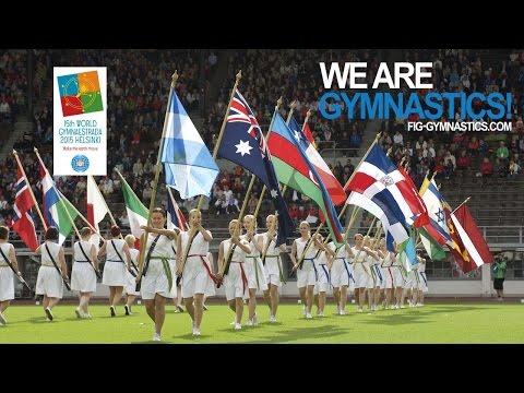 World Gymnaestrada 2015 - Opening Ceremony - We are Gymnastics !