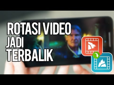 Cara Merotasikan Video Di Android Jadi Terbalik Potrait Landscape Youtube