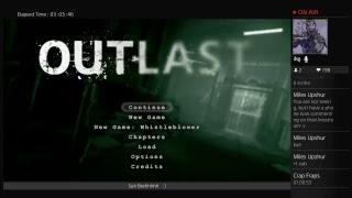 PS4 : Outlast : Speedrun : Insane Difficulty : No Glitch