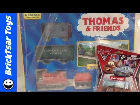 eBay Haul Lionel Trains and Carrera Slot Cars! James and Mater