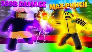 I used #1 HERO POWER to BATTLE the SUPER VILLAIN (Roblox)