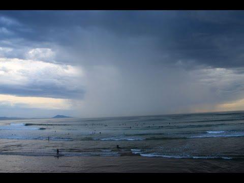Surfer quand il y a de l'orage