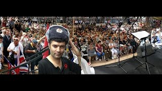 Парад Победы 2017 видеорепортаж  Израиль Хайфа
