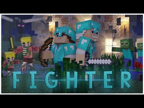 ♫ Fighter  A Minecraft Parody of All Star  Smash Mouth Music