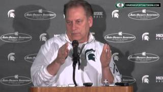 Tom Izzo Press Conference: Previewing Georgia