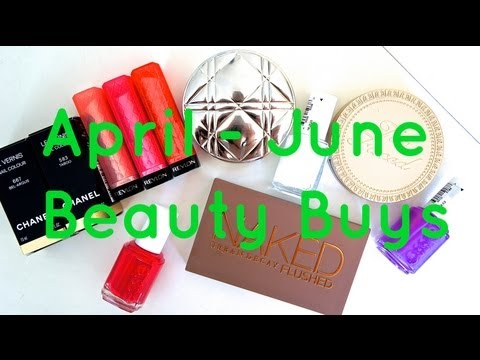 April to June Beauty Buys