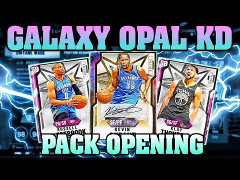 GALAXY OPAL KEVIN DURANT PACK OPENING LIVE! NBA 2K20 MYTEAM PRIME PACKS