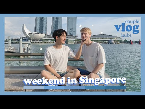 Couple Vlog - Happy Weekend in Singapore 🇸🇬(sub)