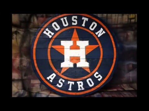 How to Make a Houston Astros Logo - Pallet Wood