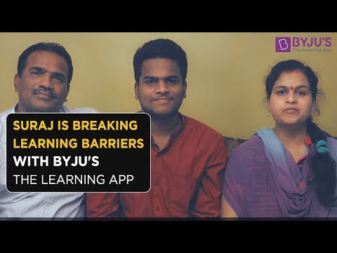 BYJU'S Story - Suraj Peela | Class 11 | Hyderabad