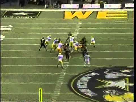 2008 Army Bowl   Blair Walsh Fake Punt