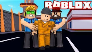 BEING A MEAN COPS in ROBLOX JAILBREAK / ARRESTING PEOPLE FOR NO REASON