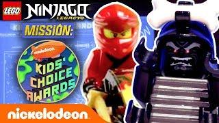 LEGO Ninjago Heroes Race to Save the Kids' Choice Awards 2019