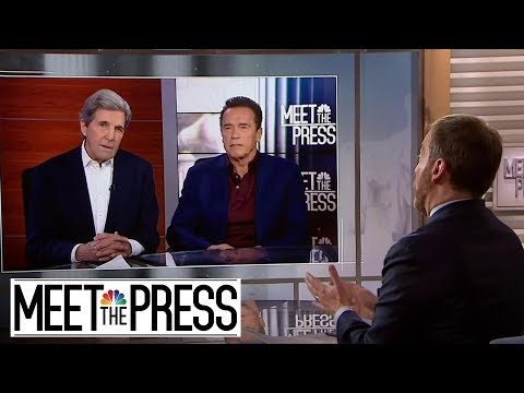 Full Kerry, Schwarzenegger: Have To Treat Climate Change 'Like A War' | Meet The Press | NBC News