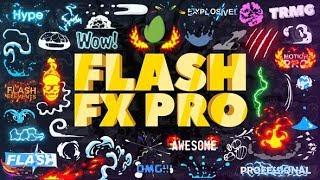 ( Sonra Etkileri a ~ AE Şablon) Flash FX - Animasyon Oluşturucu Şablonları