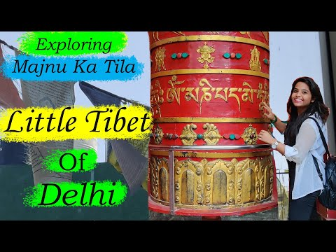 Little Tibet of Delhi | Exploring Majnu ka Tilla | Monestary Market of Delhi | Tibetan Market