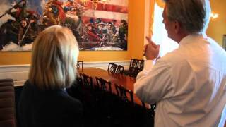 House Majority Whip Kevin McCarthy gives us a tour of his office!