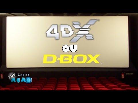 Qual a melhor sala de cinema? 4DX ou D-Box?