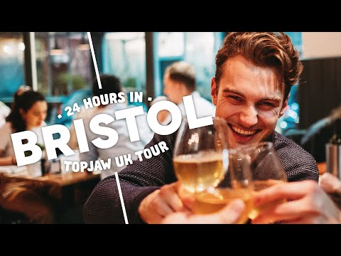 24 HOURS IN BRISTOL - Day Trip ft. Bristol's Best Burger, Wine Bars & Incredible Bakery