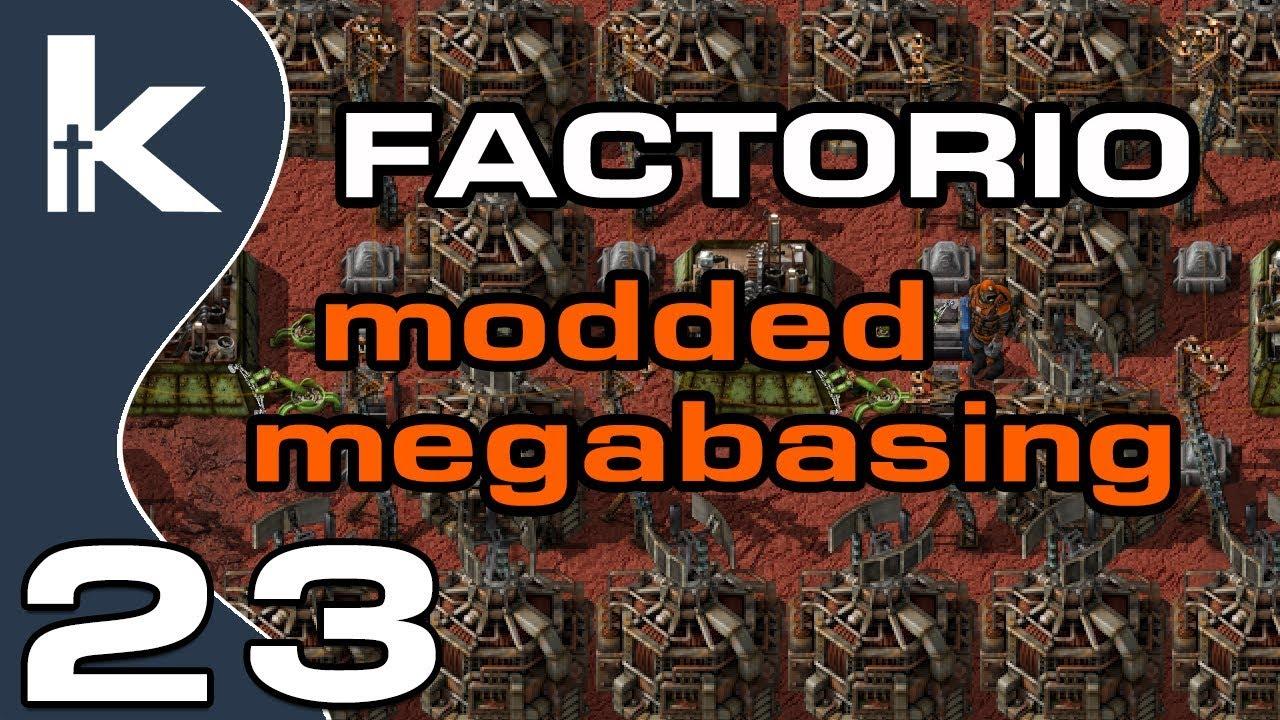 Factorio Modded Megabasing   Ep 23 Bunches o' Blueprints