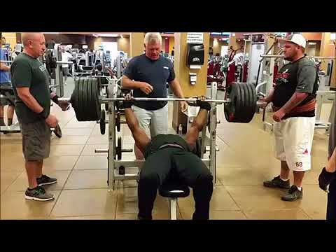 Chad 520 pound bench press