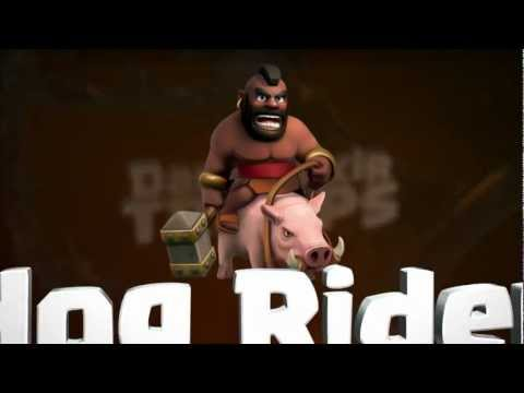 Clash of Clans: The Hog Rider