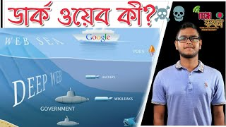 What is dark web?☠️Deep web and dark web explained in bangla.What is deep web?