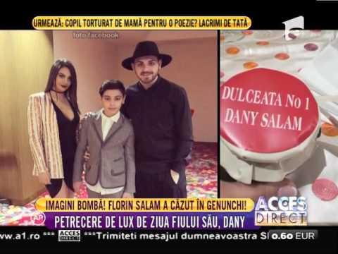 Imagini bombă! Florin Salam a căzut în genunchi!