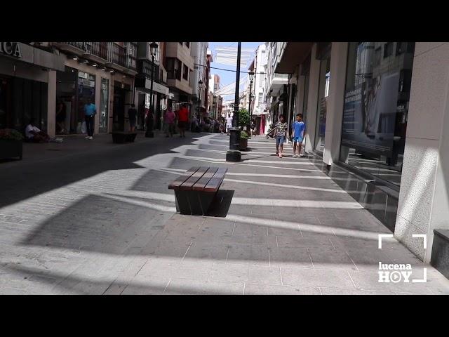 VÍDEO: El equipo de gobierno estudiará cómo mejorar el sistema de entoldado del centro