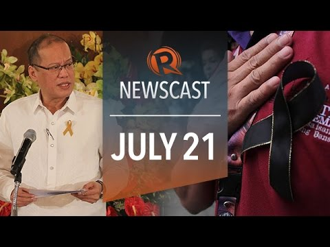 Rappler Newscast: Aquino impeach complaint, MH 17, Indonesia elections