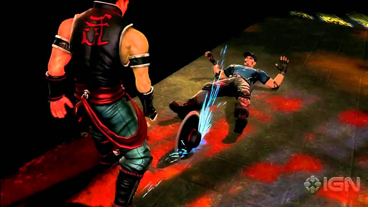 mortal kombat kung lao fatalities youtube