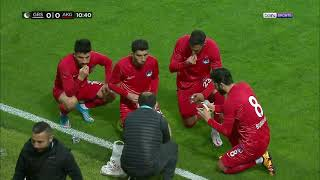 Turkish Football Team Opening Their Fast Ramadan Kareem