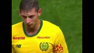 Emiliano Sala last goal for Nantes  #PRAYFORSALA