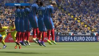 UEFA Euro 2016 - Romania vs France Gameplay (PC HD) | MindYourGames