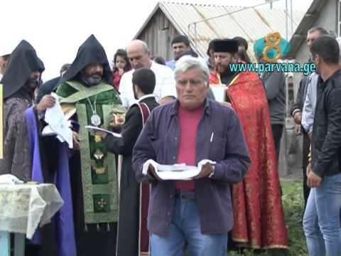 Заложен первый камень в строительстве церкви Сурб Хач