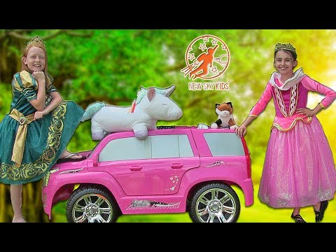 Little Princesses Classics - The Pink Princess Car, The New Dress, And The Friendship Lessons