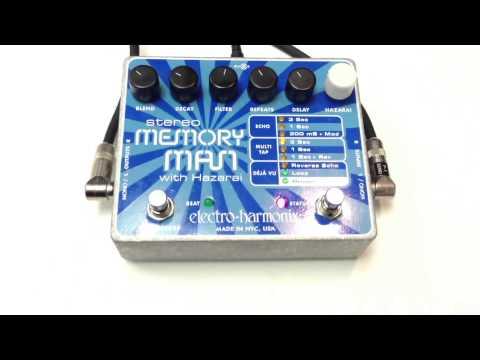 Stereo Memory Man with Hazarai Delay