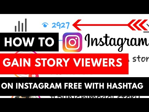 How to Get 3000 Story Viewers on Instagram with hashtag | Followers | Story  Viewers | Go Viral |